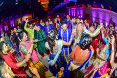 garba celebration,dj and entertainment,indian bride and groom