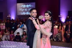 First dance Indian wedding shot.