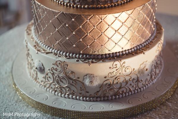 N Mehndi Cake : Detailed indian wedding cake in houston texas by mnm