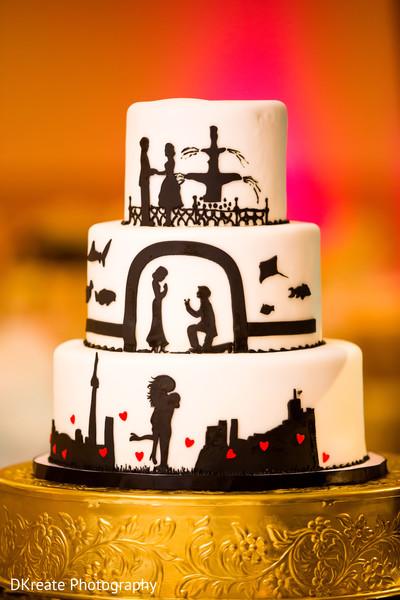 Creative Indian Wedding Cake Design Photo 140558