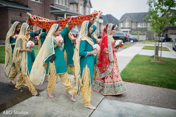 Sikh bridal party.