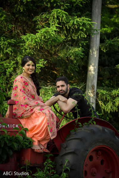 Dream Indian engagement photo session