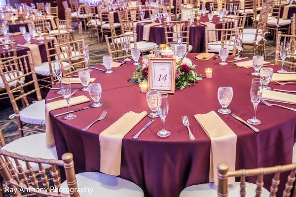 Incredible indian wedding reception table decor
