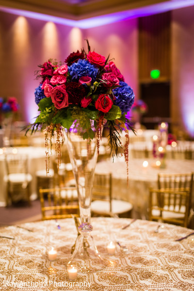 indian wedding reception,indian wedding reception floral and decor,indian wedding planning and design,floral centerpieces