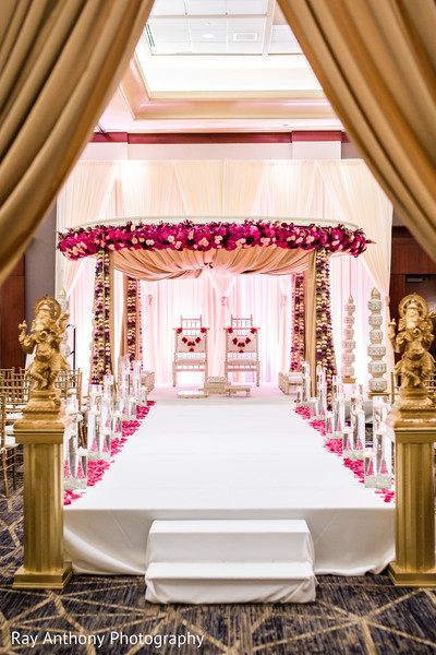 indian wedding ceremony,indian wedding ceremony floral and decor,mandap,indian wedding planning and design