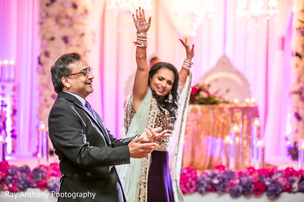 Indian bride's special moment