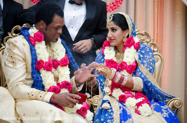 indian bride and groom,indian wedding ceremony,ring exchange