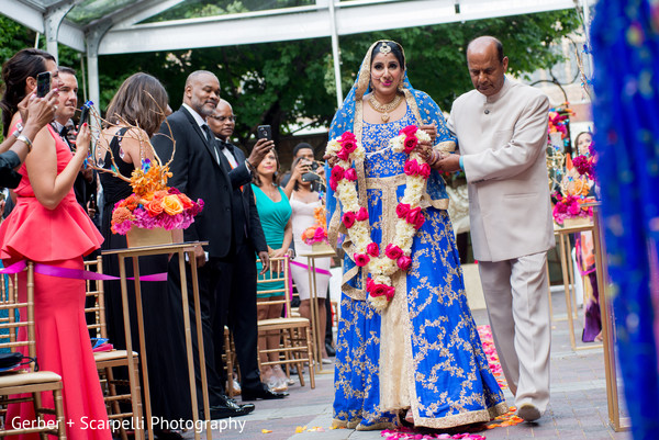 indian bride,indian wedding ceremony,floral and decor