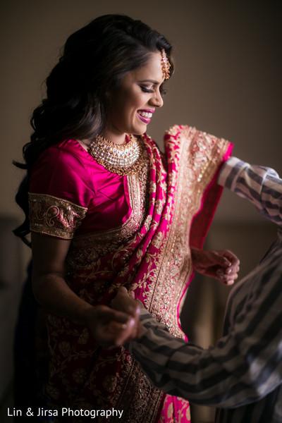 Gorgeous Indian bridal style.