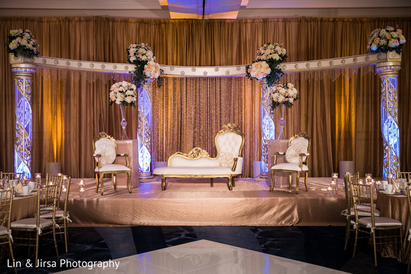 Indian Wedding Photographyfloral And Decorreception Stage