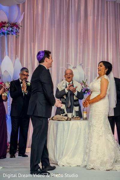 indian wedding,fusion wedding,jewish fusion wedding