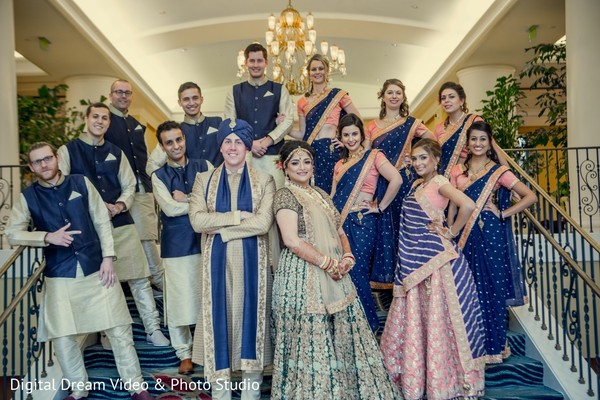 indian bride fashion,indian groomsmen fashion