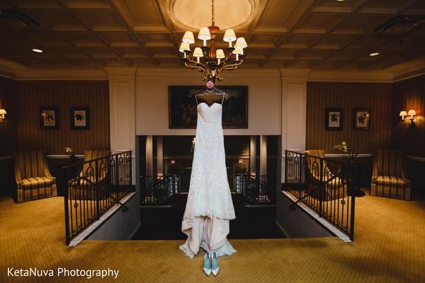 Elegand Indian White Wedding Dress In Somerset NJ Fusion By KetaNuva