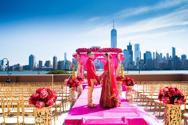 Incredible indian wedding ceremony venue decor