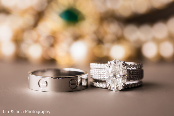 Insanely beautiful Indian wedding rings.