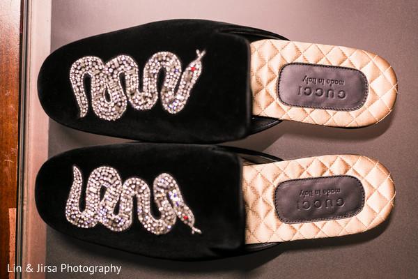 560909fdce7b Gucci Snake-Embroidered Velvet Evening Slippers.