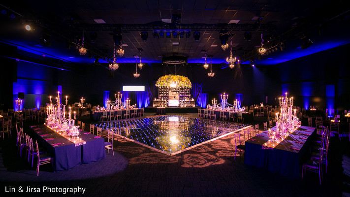 indian wedding reception,planning and design,floral and decor,lightning