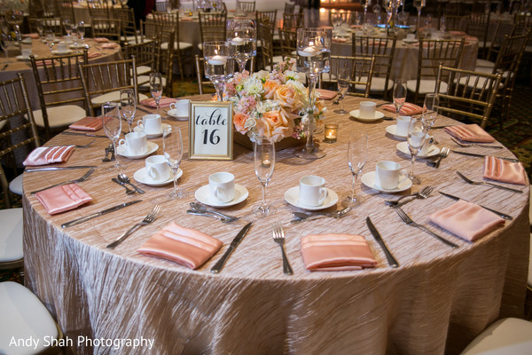 Elegant table set up