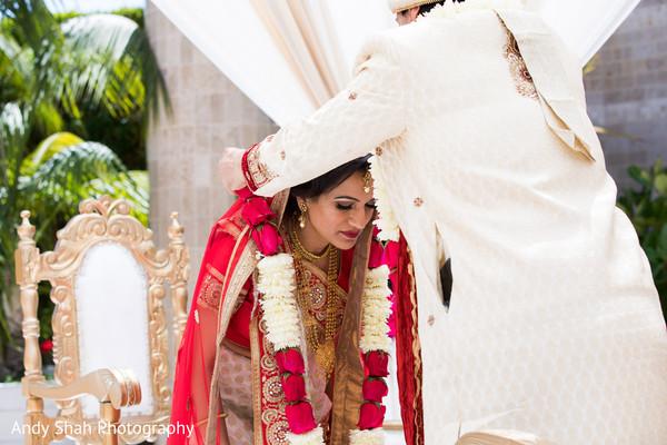 Traditional Jai Mala ceremony