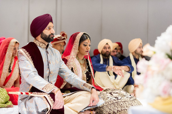 Indian Sikh wedding ceremony.