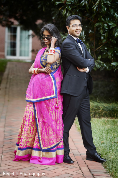 indian bide and groom,reception fashion,indian wedding photography