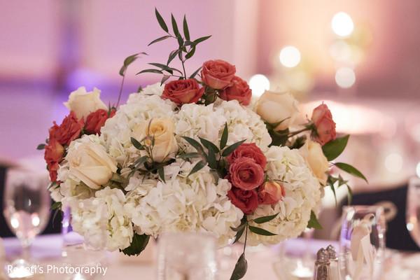 Splendid Indian wedding floral arrangement.