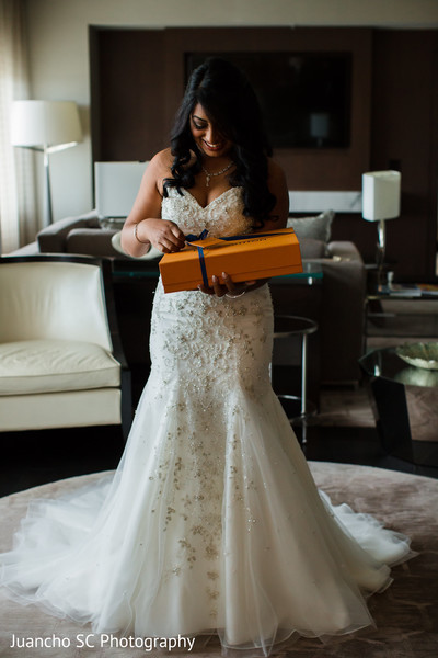 indian bride,indian wedding photography,getting ready,white wedding dress