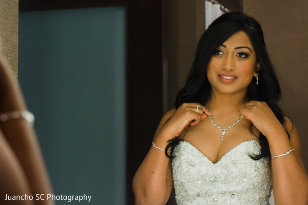 indian bride,indian wedding photography,white wedding dress