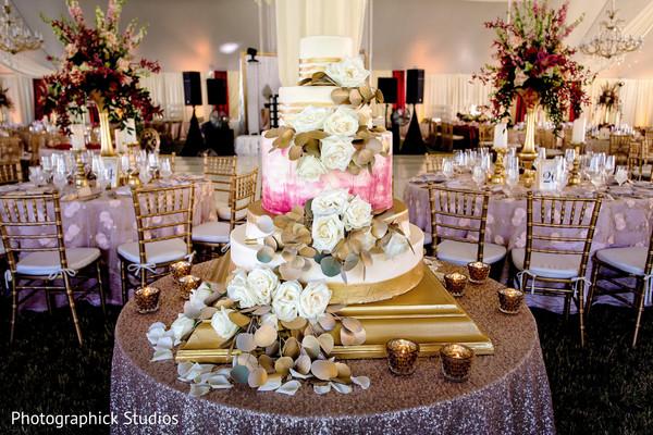 Majestic indian wedding cake