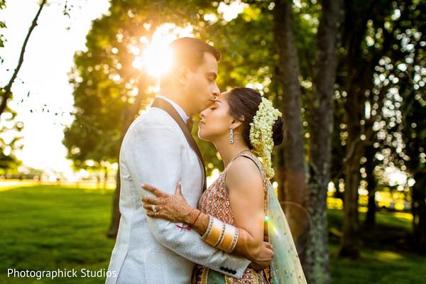 Outdoor themed indian wedding photo shoot