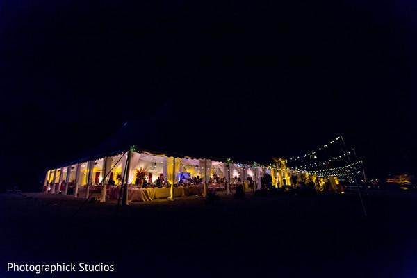 Wonderful indian wedding reception venue