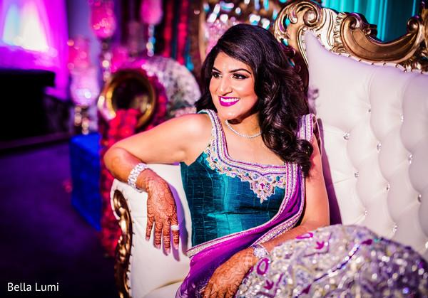 Indian bride's sangeet night photography