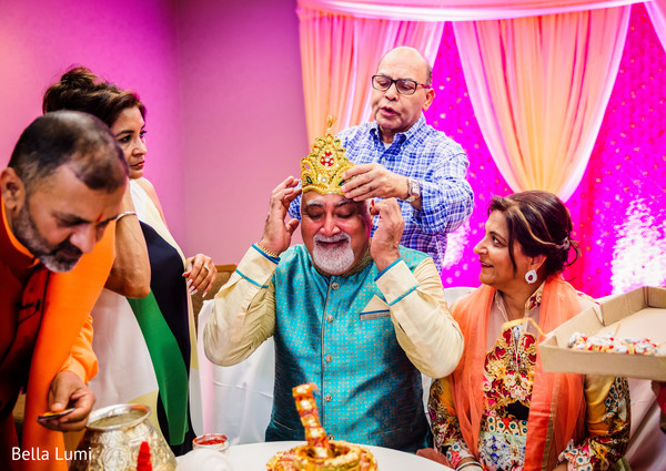 Indian pre-wedding ceremony fun moments