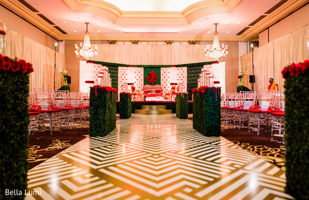 `Wonderful indian wedding ceremony venue decor