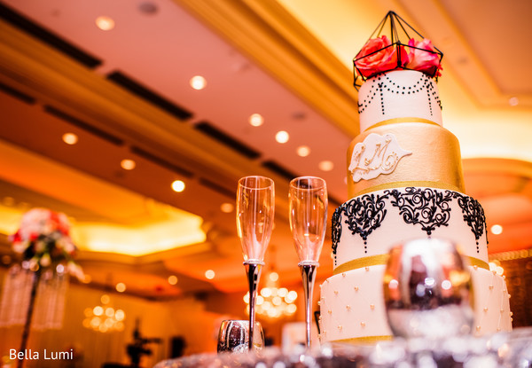 Over the top indian wedding cake design