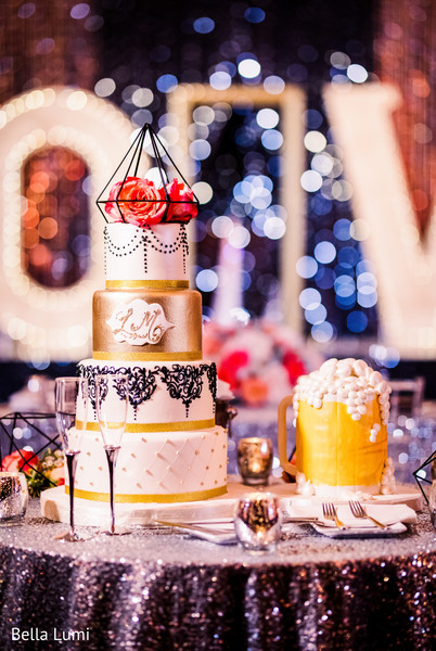 Creative indian wedding cake