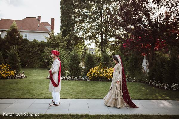 pakistani bride and groom,indian wedding photography,ceremony fashion