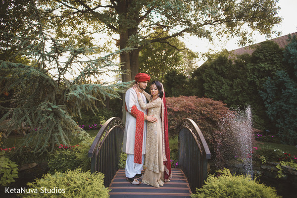 Precious Pakistani bride and groom photo shoot.