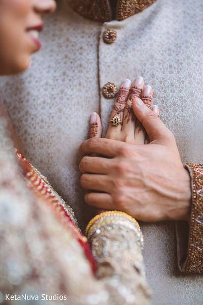 Indian couple sweet capture.