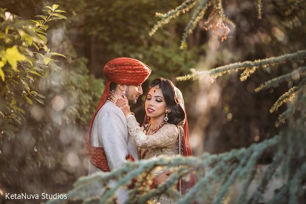 pakistani bride and groom,indian wedding photography,outdoor photography