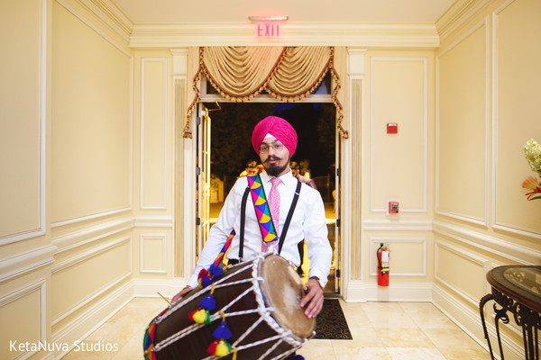 Wedding Dhol players.