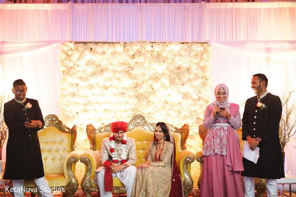 Beautiful Pakistani bride and groom.