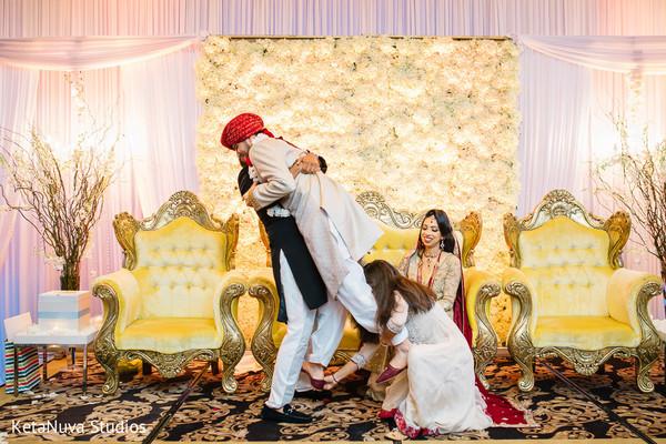Pakistani wedding candid shot.