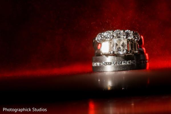 Luxury Indian wedding rings.