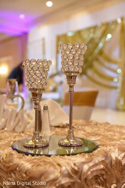 Phenomenal Indian wedding table centerpieces.
