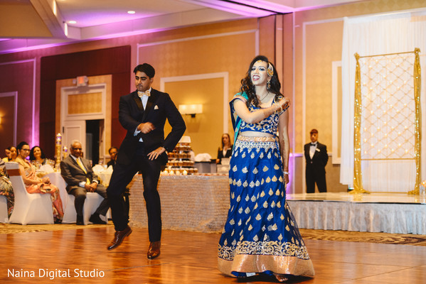 Showstopping Indian newlyweds choreography.