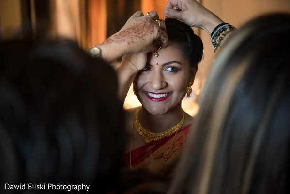 indian bride,indian bridal jewelry,hair and makeup,getting ready