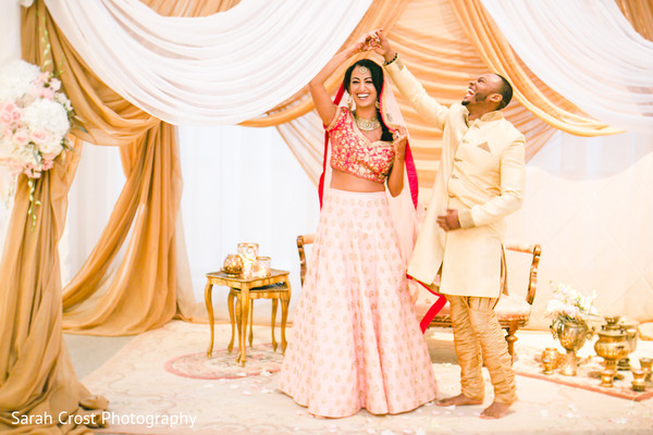 indian wedding ceremony,indian wedding ceremony floral and decor,indian bride and groom