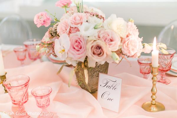 Dazzling floral centerpiece