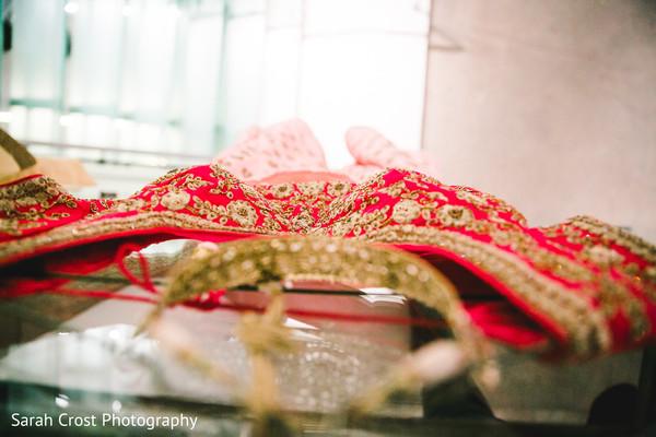 Indian bride's lengha
